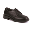 Black Executive Apron Front Tie Shoe S1P