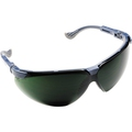Honeywell XC Green Shade 5 Blue Frame Safety Specs 1011020