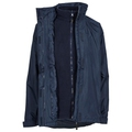 Trespass Eleanor Ladies 3-in-1 Jacket Navy Blue