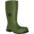 Anvil Zevaz Green Slip Resistant Safety Wellingtons SB SRC