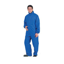 Endurance 1-Piece Royal Blue PU Coverall