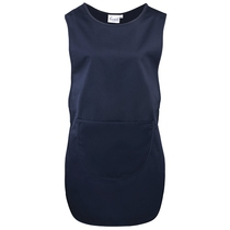 Long Length Navy Pocket Tabard - PR172