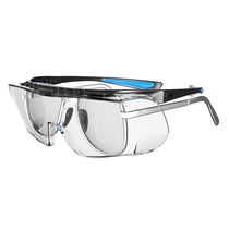 JSP Coverlite Overspec Adjustable Temples Clear Lens
