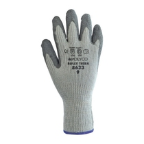Polyco 8633-9 Reflex Therm Grey Latex Thermal Gloves