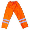 Hi-Vis Orange PU Overtrousers