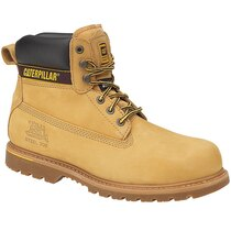 Caterpillar Holton Honey Nubuck Safety Boots