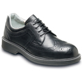 Steitz Officer 1 NB Black Leather ESD Safety Shoes