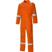 Dickies Flame Retardant Everyday Hi-Viz Orange Coverall