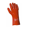 Keep Safe 16'' Red PVC Gauntlets