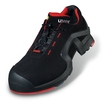 Uvex 8512-8 1 Black/Red Metal-Free Trainers S1 SRC ESD