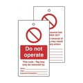 Do Not Operate - Lockout Tags [10]