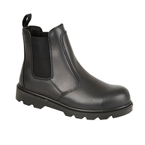 Grafters Black Metal Free Dealer Boot S1P SRC