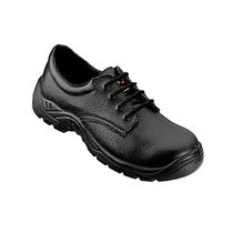 Tuf Safety Tie Shoe Black
