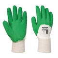 Portwest A171 Latex Crinkle White/Green Gloves