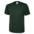 Uneek UC301 Classic Bottle Green 100% Cotton T-Shirt 180g