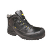 Anvil Traction Rockford Black Midcut Boot S1P
