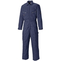 Dickies WD2360R Navy Blue Lined Zip Front Coverall