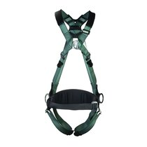 MSA 10206049 V-Form Back/Chest/Hip D-Ring Harness