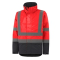 Helly Hansen 70335-169 ALTA Insulated Jacket Red/Charcoal