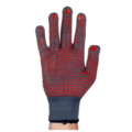 Tornado TEG20 Electrogrip Red Dotted Gloves