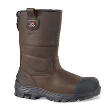 Rockfall RF70 Texas Leather Rigger Boot S3 HI CI SRC