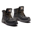V12 Bison Black Waxy Metal Free Derby Boot S3